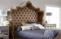 欧式床定制 欧式实木双人床1.5/1.8米床定制定做 欧式床图片