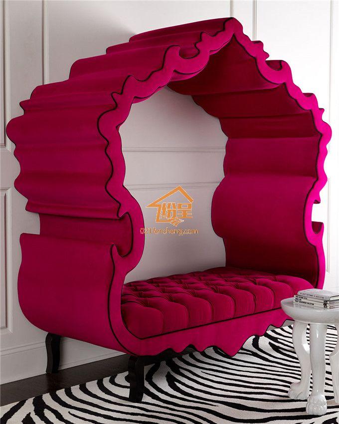 2015新款欧式沙发 特色双人沙发布艺沙发