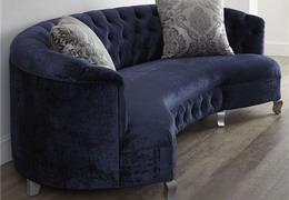 餐厅沙发定制 高档餐厅沙发定制定做 圆弧形布艺沙发
