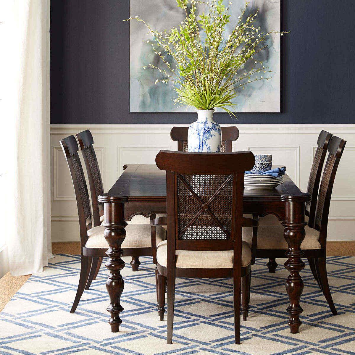实木餐桌茶桌图片大全