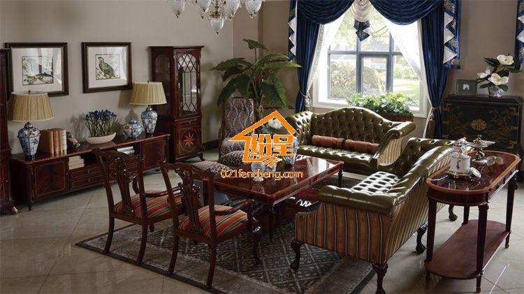 别墅家具定制欧式实木家具 欧式全套家具