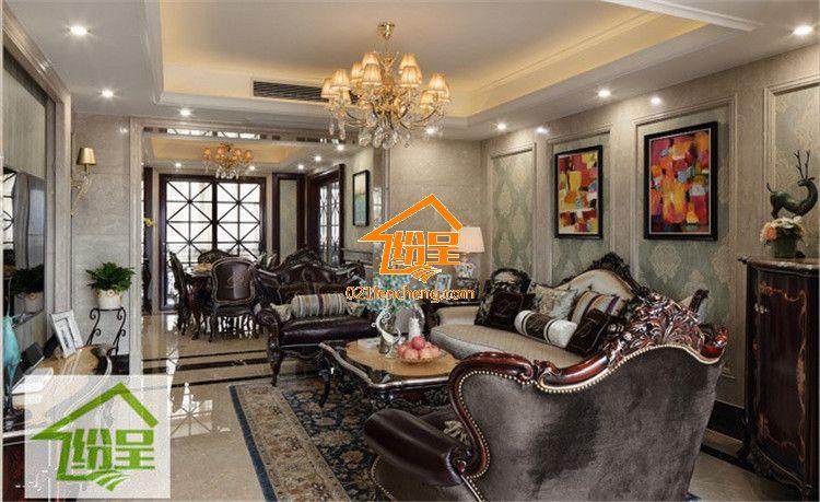 新古典欧式家具定制别墅样板房家具