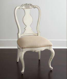 欧式复古餐椅实木橡木餐椅布艺法式餐椅