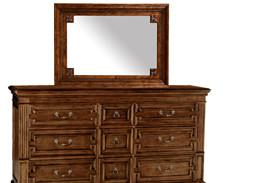 美式家具定制实木梳妆台桌FC17
