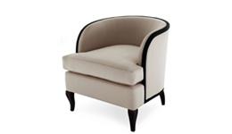 沙发椅简约美式实木沙发椅子单人时尚沙发椅FC630-2