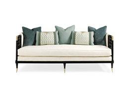 简约现代美式三人沙发定制定做