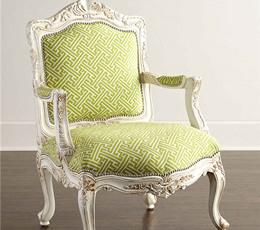沙发椅实木简约欧式复古沙发单人椅美式手工雕花工厂直销定制