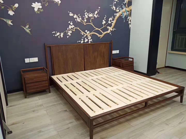 杭州宋先生家送货-简约搭配新中式家具实拍